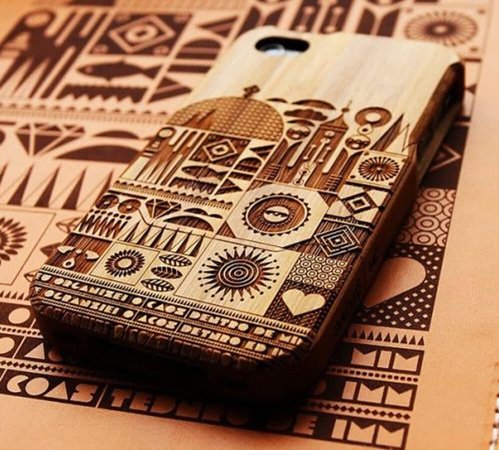 Create iphone case in wood