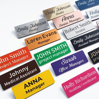 Office name badges