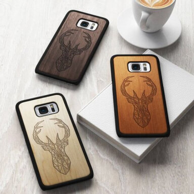 Phone case engraving